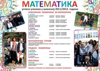 Математика 2011/2012. година