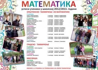 Математика 2012/2013. година